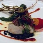 レストラン料理例(魚料理)