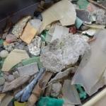荒川で拾ったプラスチック片
